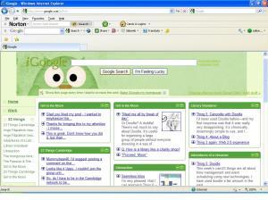 iGoogle startpage