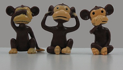 hear no evil monkeys